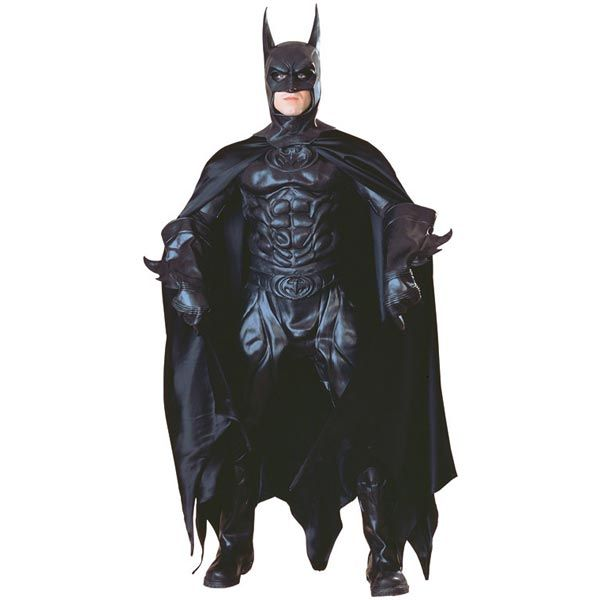 Perfect replica of the costume worn in the Batman and Robin movie!! Supreme Edition Batman Adult Costume #officialsuperherocostumes  sc 1 st  Pinterest & Perfect replica of the costume worn in the Batman and Robin movie ...