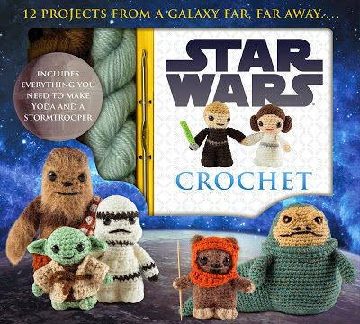 LucyRavenscar - Crochet Creatures: Star Wars Crochet - yarn used