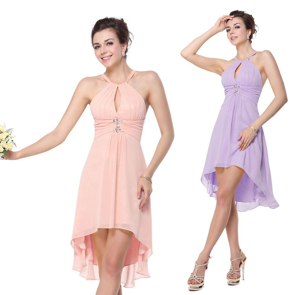 Ever Pretty Sexy Yellow Cheap Short Bridesmaid Dresses Cocktail ...