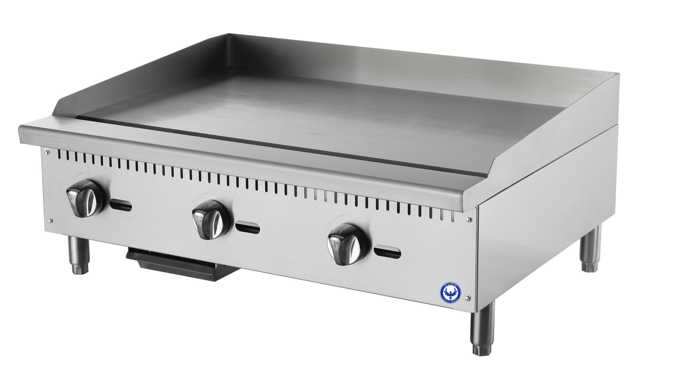 Purefg 36ng 36 Commercial Flat Top Gas Grill Countertop Griddle