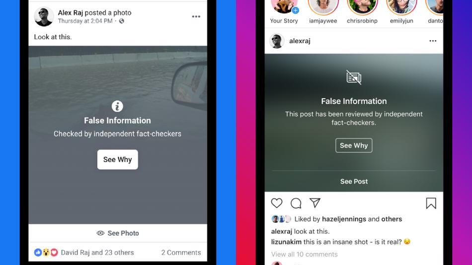 Instagram False Information Labels A Step to Fight Fake