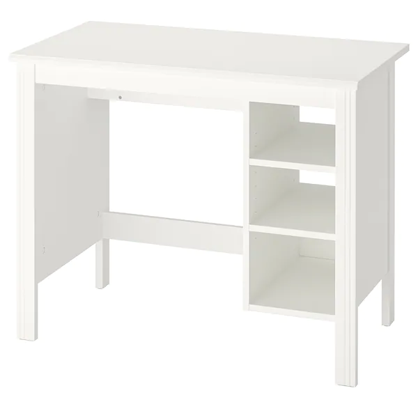 Brusali Radni Stol Bijela Ikea In 2020 Ikea Brusali White Desks Home Desk