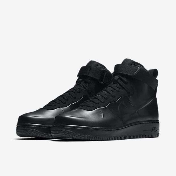 nike air force 1 foamposite tazza triple black pinterest nike air