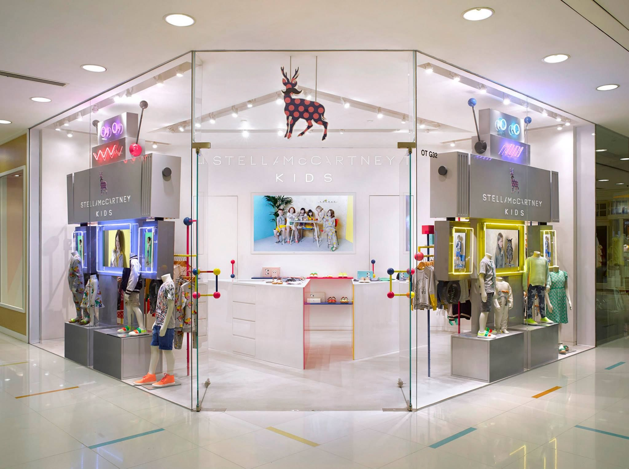 b07ff8a4a84d Our first ever Stella McCartney Kids standalone store in Hong Kong ...