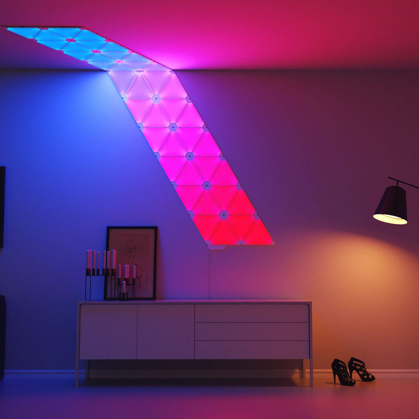 Nanoleaf Light Panels 9 Verbindungsstücke Flexibel Coole