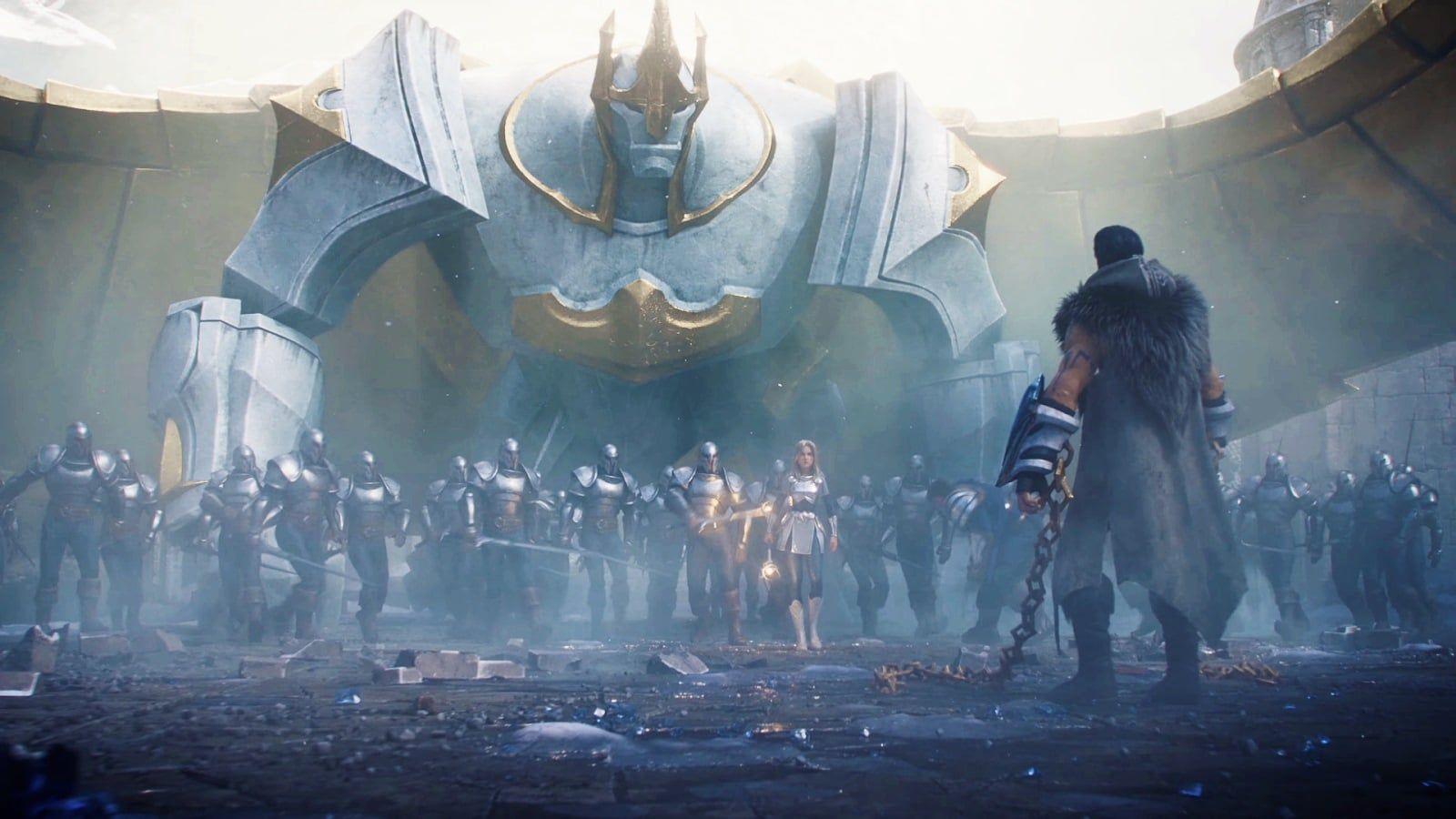 League Of Legends 2020 Warriors Cinematic Wallpapers L2pbomb In 2020 League Of Legends Warriors Wallpaper League Of Legends Poster