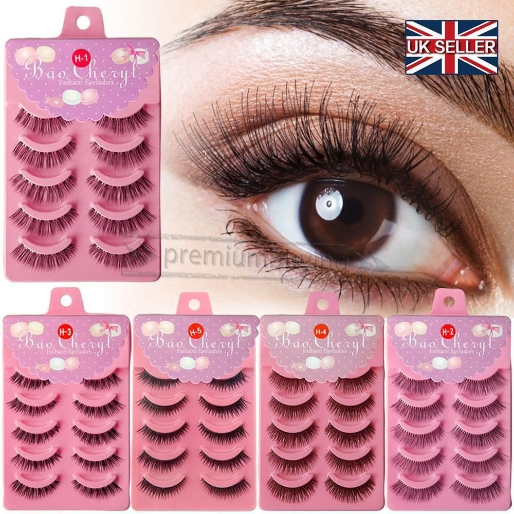 Eyelashes Magnetic Long Lash Reusable Extension Natural Mink Fake 3d IY2DW9EH