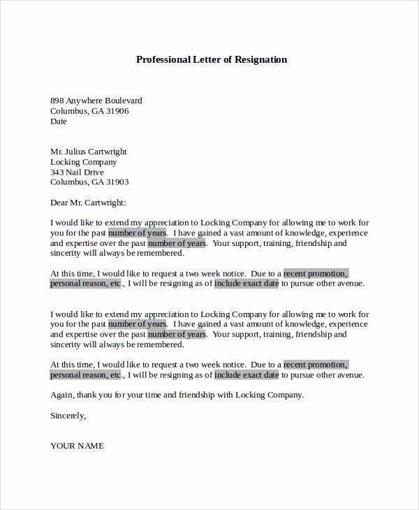 5ec29670e9e60acdeed6f5d5933bb151 Mac Resignation Letter Template on free printable company, 2 week notice, for school aide,