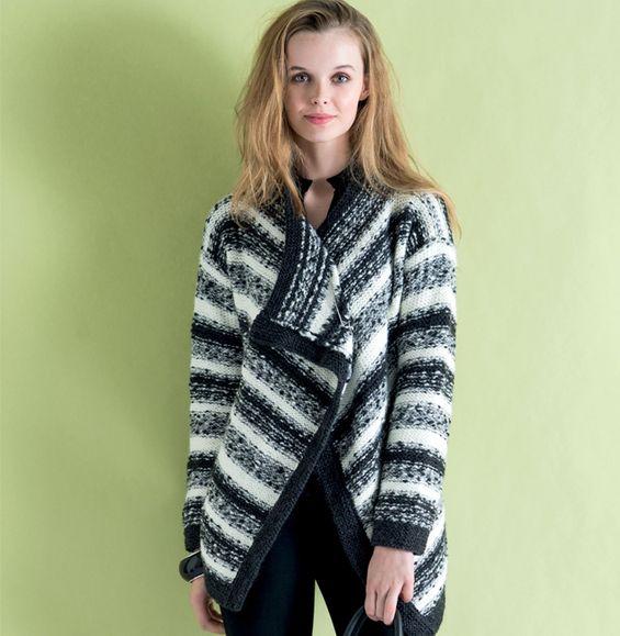 Manteau femme hiver phildar