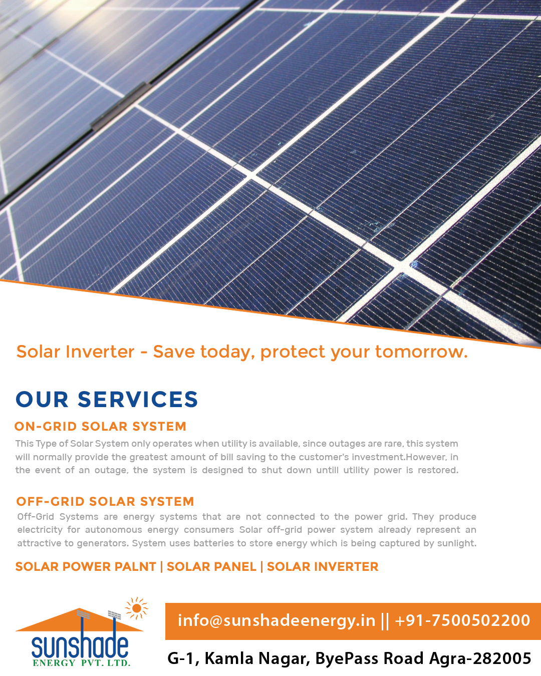Solar Inverters Are A Crucial Part Of A Solar System Since Power From Sun Cannot Be Directly Used To Run Electrica Roof Solar Panel Solar Panels Solar Inverter