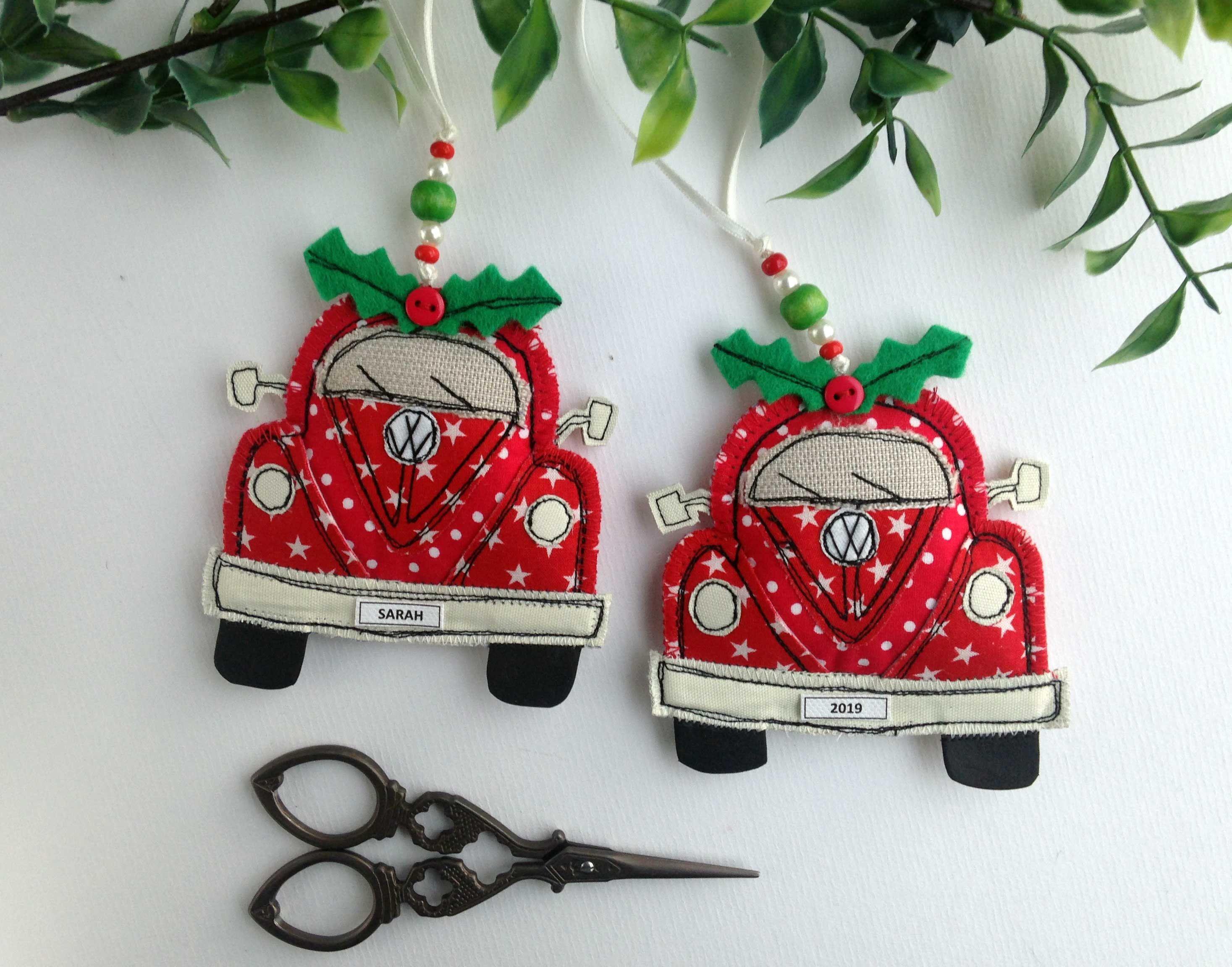 Personalized VW Beetle Decoration VW Bug Christmas VW ...