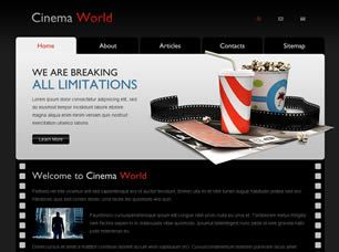 Theater joomla template for movie theater.