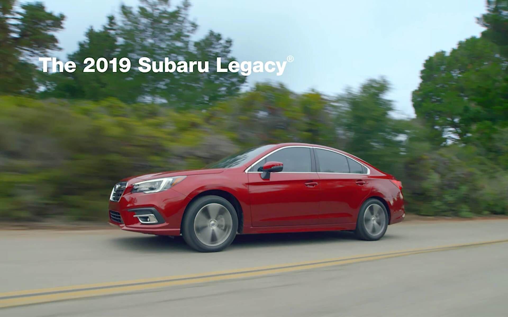 2019 Subaru Legacy Subaru Legacy Subaru Legacy