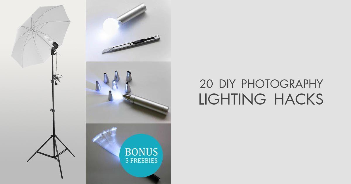 20 Creative Diy Photography Lighting Hacks In 2020 Lighting Hacks Diy Photography Diy Studio Lighting