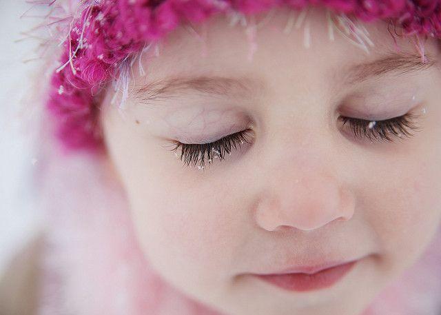 snowflakes that stay on my nose and eyelashes | Eyelashes ...