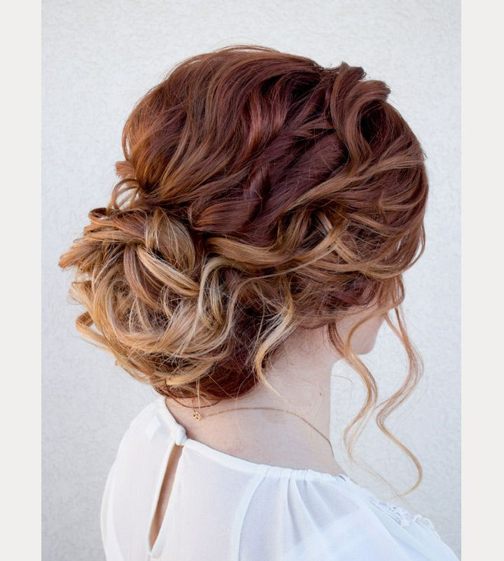 Wedding Hairstyle For Natural Curly Hair: Drop Dead Gorgeous Curly Wedding Updos