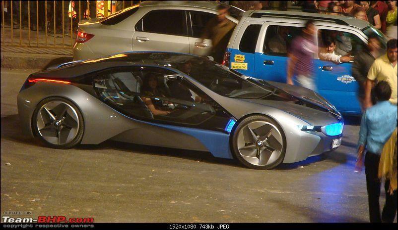 MI4 BMW Vision EfficientDynamics car.   Bmw, Bmw concept ...