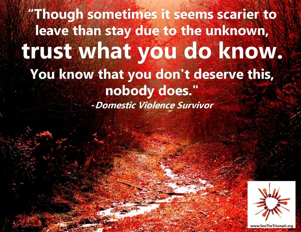 "Domestic Violence Survivor Quotes Trust What You Do Know"" Domestic Violence Survivor Seethetriumph"