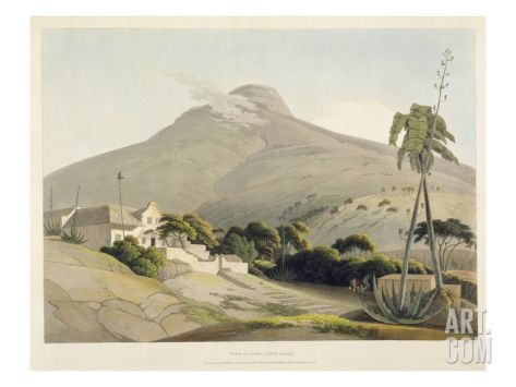 View of the Lion's Head, Plate 28 from 'African Scenery and Animals', Engraved by the Artist, 1805 Giclee Print by Samuel Daniell at Art.com