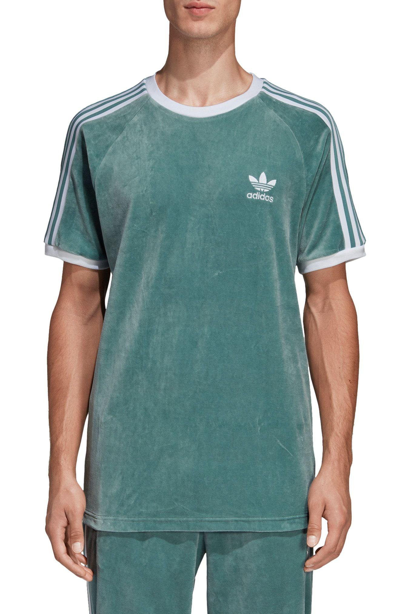 d87cc83d ADIDAS ORIGINALS COZY VELOUR T-SHIRT. #adidasoriginals #cloth ...