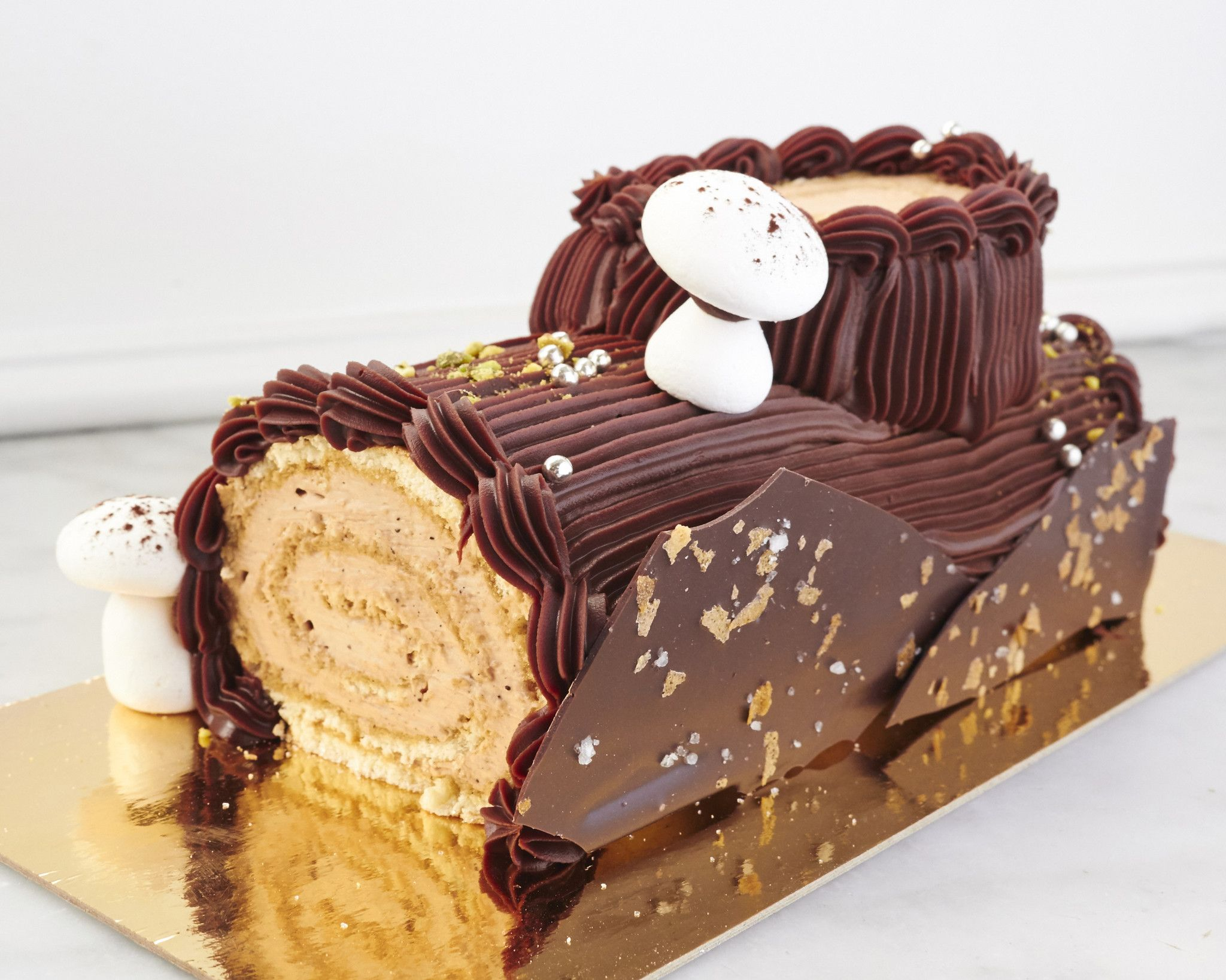 Bûche de Noël from Duchess Bake Shop   Yummy cakes