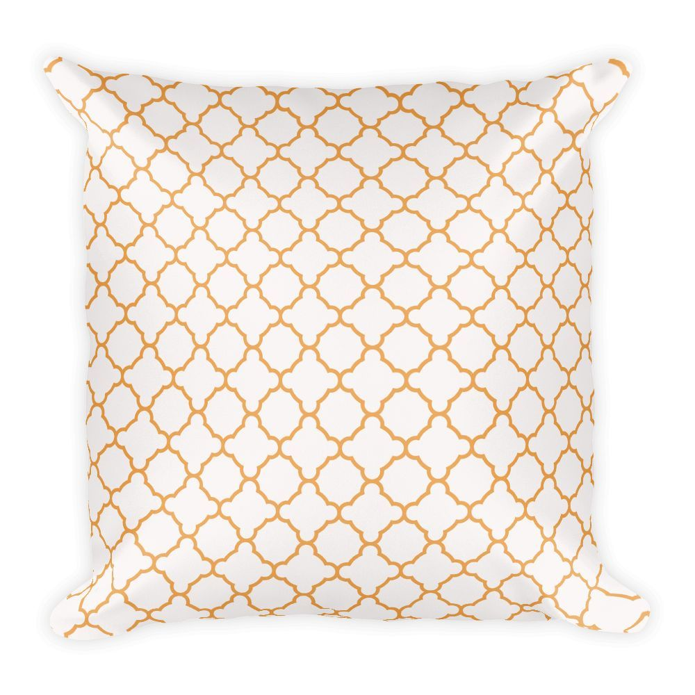 Dawud Muhammad Moroccan Square Pillow