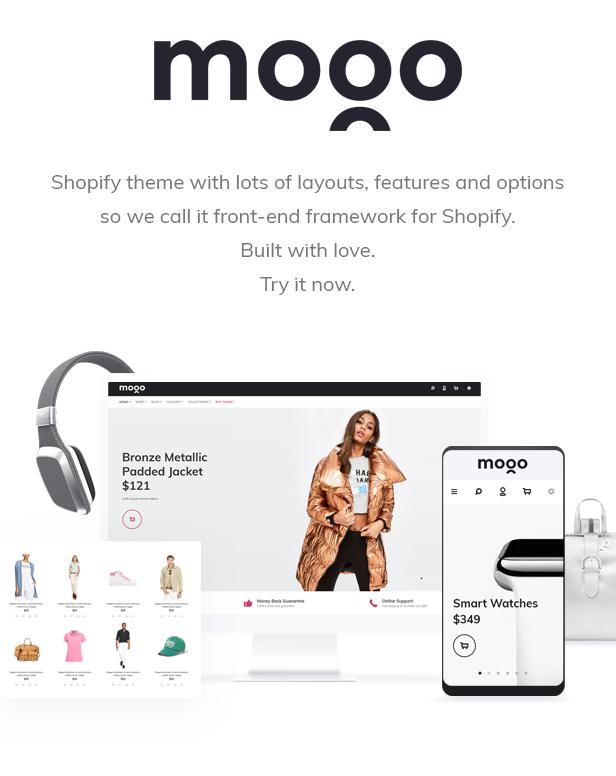 MOGO Fashion Electronics Clothing Shopify Theme | buydotdot