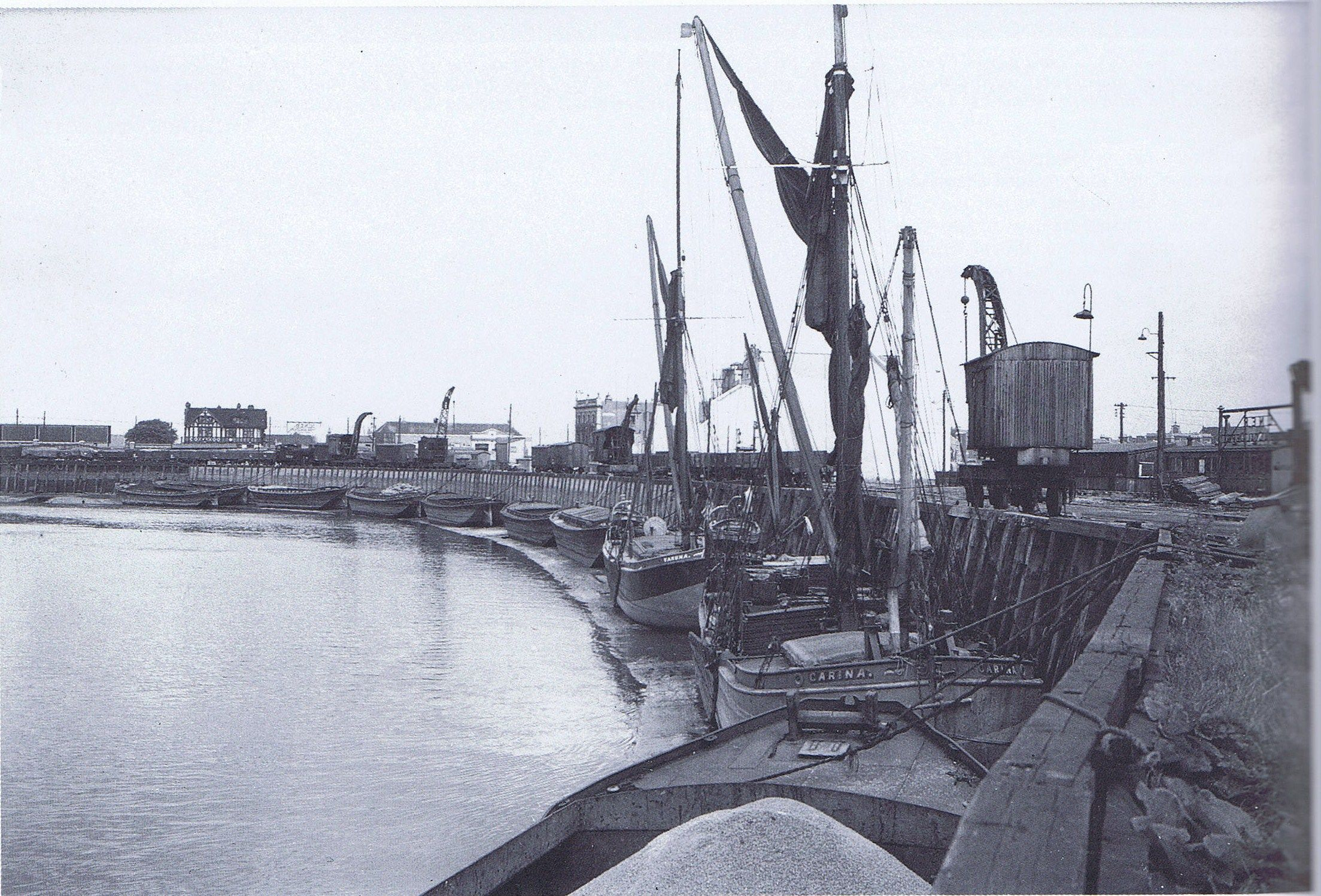 Bow Creek Wharf London Docklands London Pictures Historical