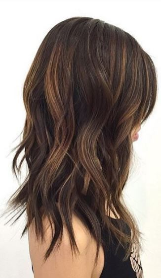 Hair Trends Mid Length And Textured Waves Hair In 2019 Hair