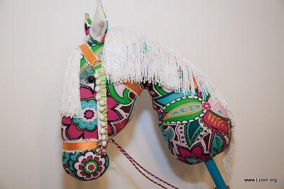 hobby horse ohh beautiful fringe mane!