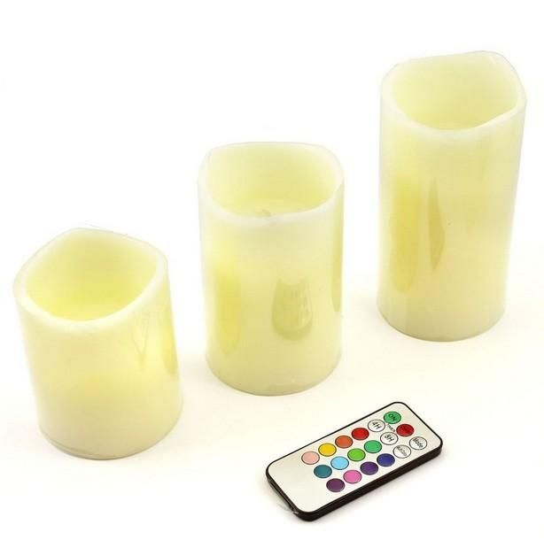 Flameless Votive Candles Romantic Flameless Blow Led Candle Tea Light Semitransparent Cup Led