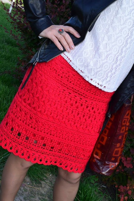 осинка юбки связанные крючком юбки вязаная юбка и вязание