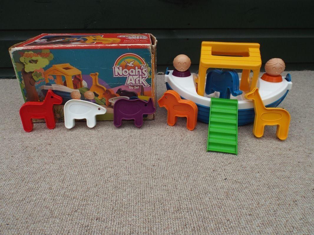 Vintage RARE Tuppertoys Noah's Ark Cook Cutter Toy Set   eBay