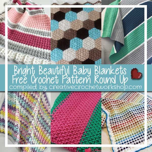 Bright Beautiful Baby Blankets