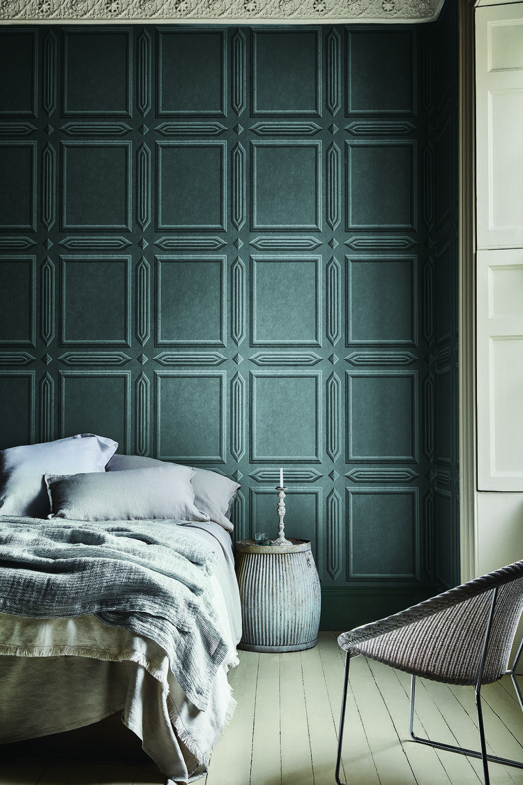 Little Greene Launches London Wallpapers Iv Archive Chic For Walls Heart Home Bedroom Design Sophisticated Bedroom Wallpaper Bedroom