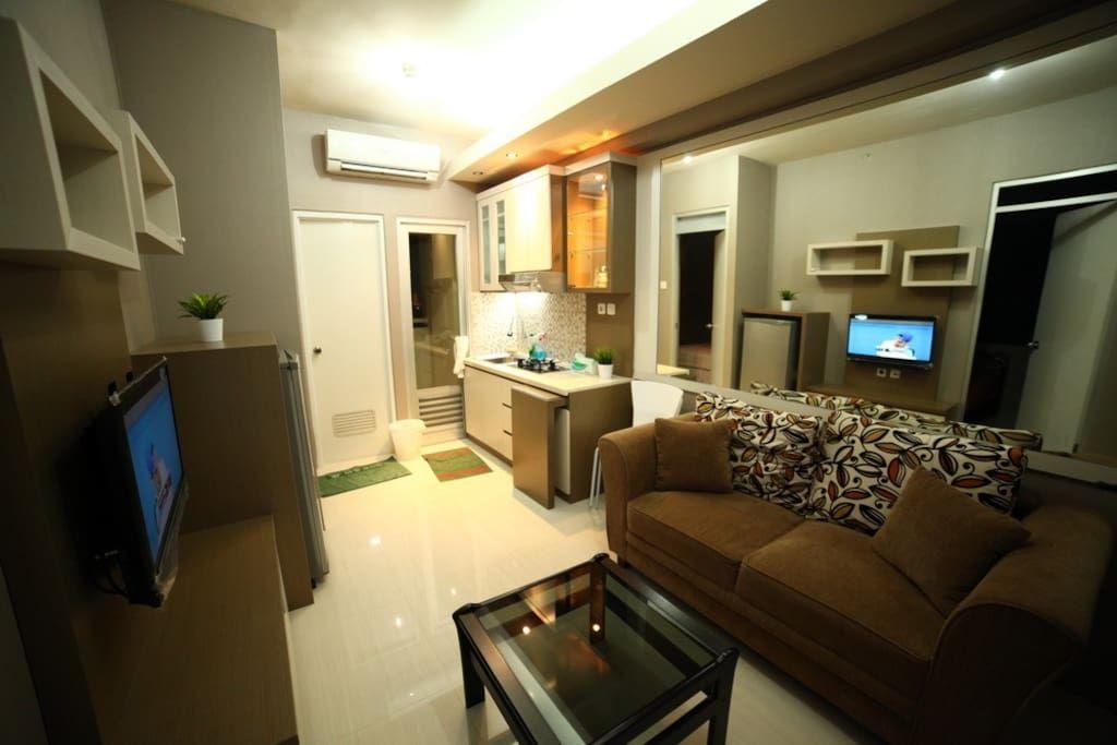 Interior designed apartment 2 bedrooms maximum 4 persons