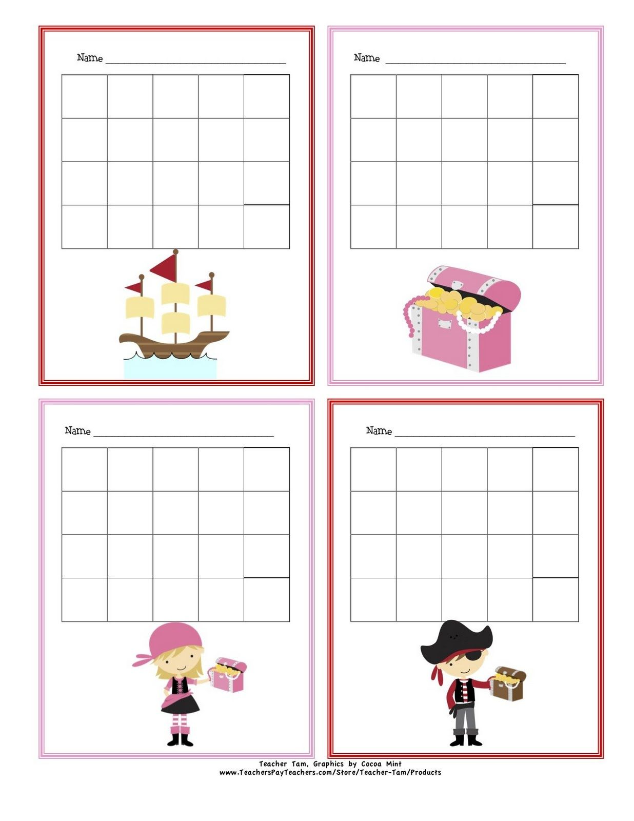 Free Printable Sticker Charts Jungle Theme