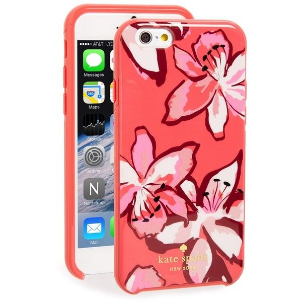 Women s Kate Spade New York  Tiger Lily  Iphone 6   6S Case ( 40) ❤ liked  on Polyvore featuring accessories 87274a2e52