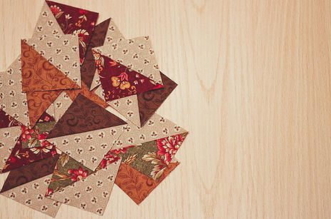 20 layouts for half square triangles