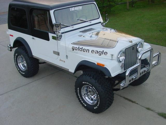 Jeep Cj7 Golden Eagle Jeep Cj Jeep Cj7 Jeep Golden Eagle