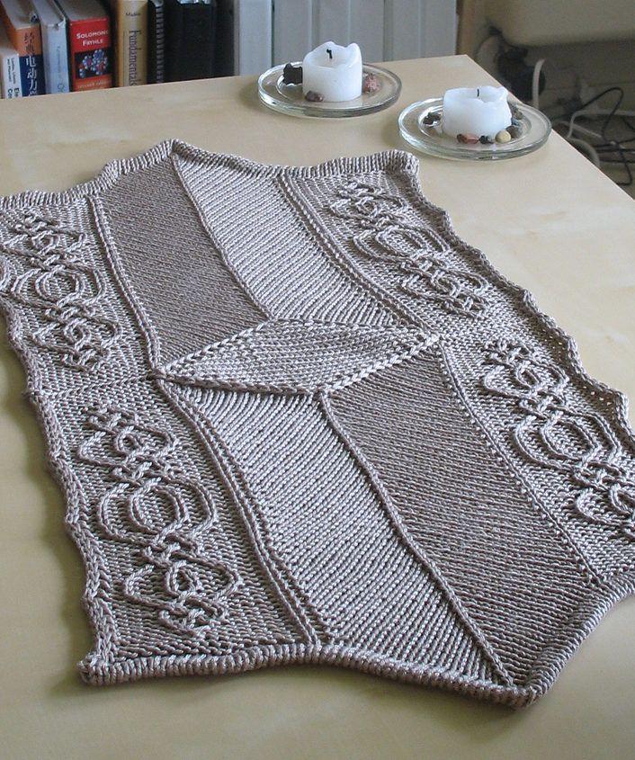 Table Decor Knitting Patterns