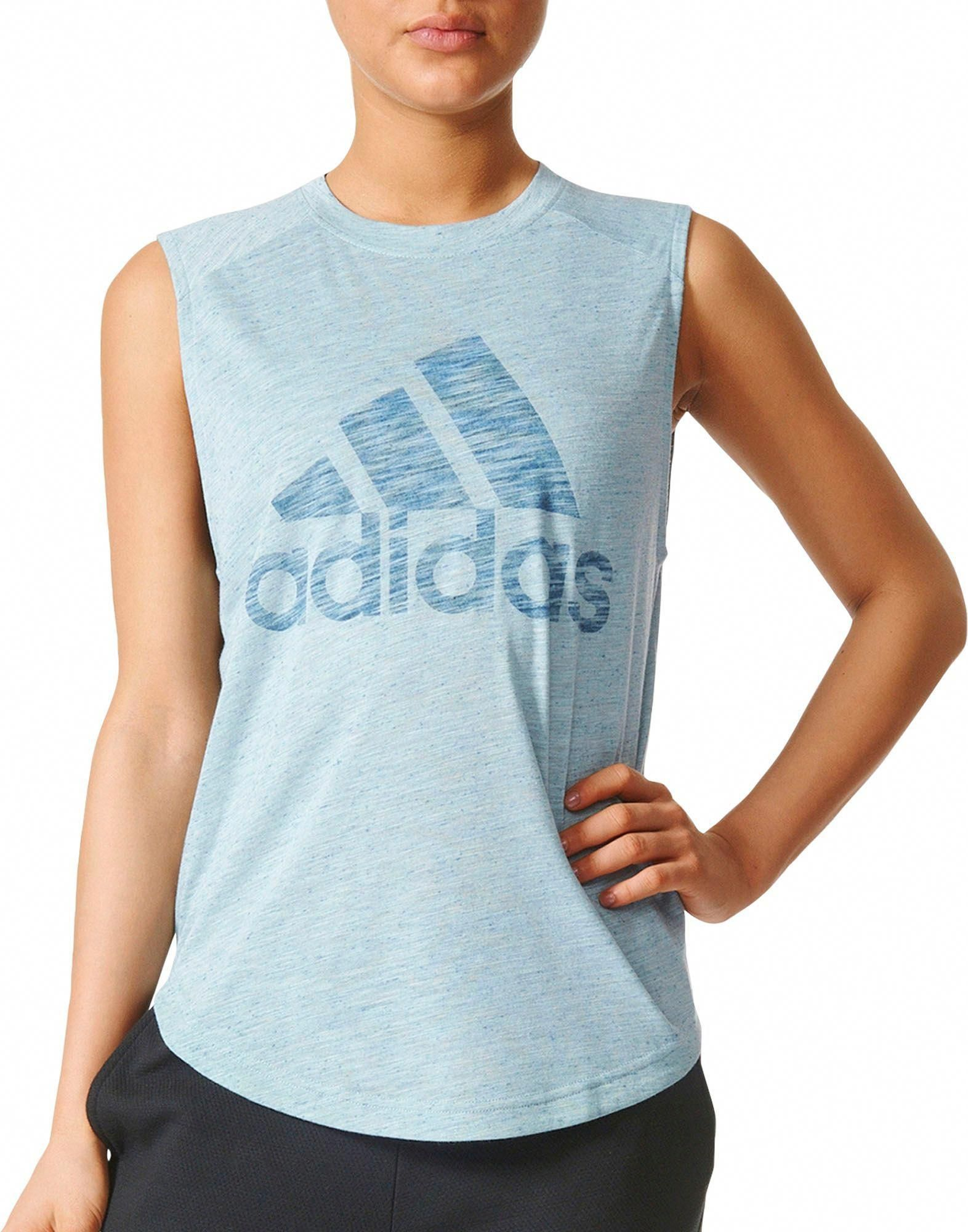 3c5dfe0fce413 adidas Women s Winners Muscle Tank Top