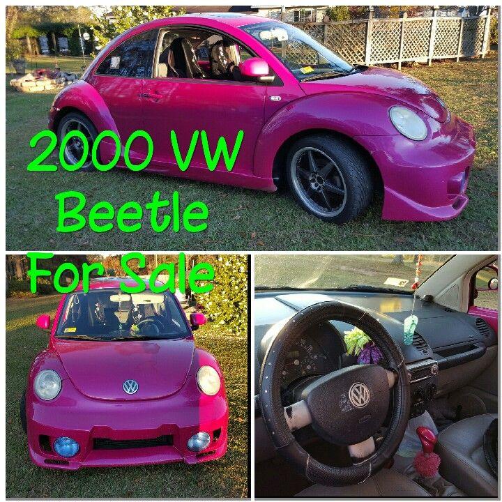 2000 Volkswagen New Beetle Transmission: 2000 VW Beetle For Sale. 5 Speed Manuel Transmission, 2.0