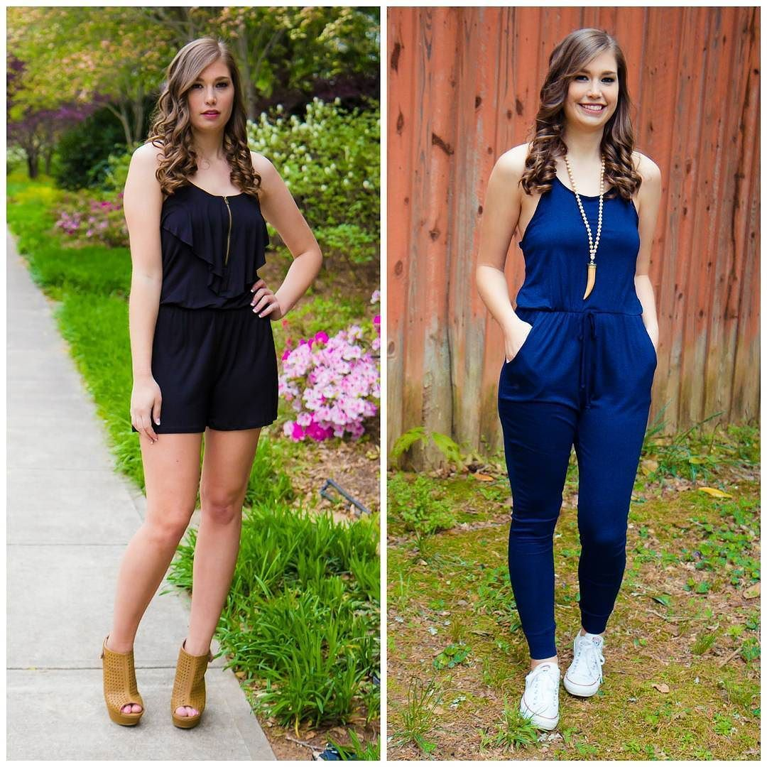What style romper do you like best?! We have a ton! Check them out at AthenaAttire.com!