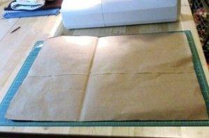 How to Make Shipping Envelopes - interesting.