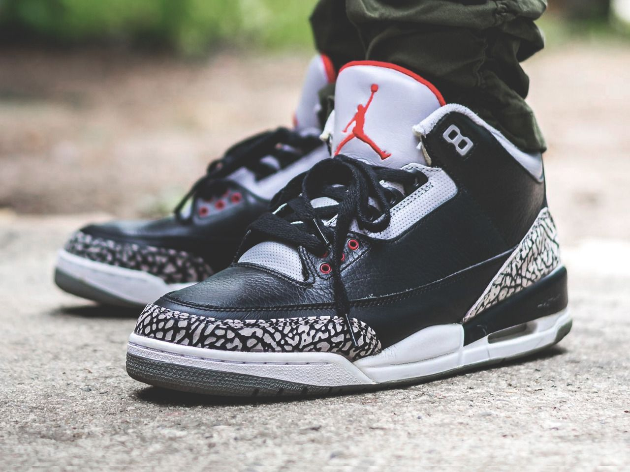 sports shoes 098a3 f5fbe Nike Air Jordan III Retro Black Cement CDP - 2008 (by tonydiamonds)