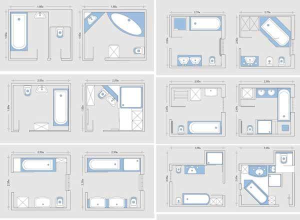 20 Bathroom Layout Design Magzhouse