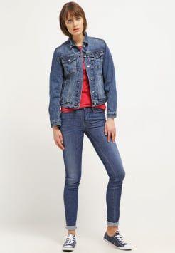 Gap Icon Kurtka Jeansowa Saddle Blue Jackets Fashion Denim Jacket