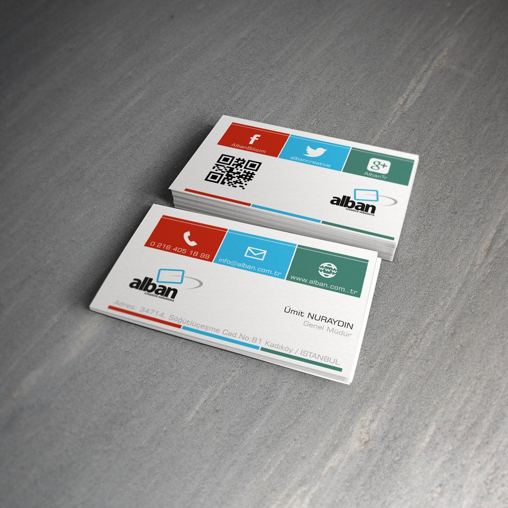 Alban.com.tr Business Card   Ugur DOGAN   front-end developer