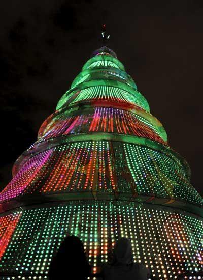 Árbol De Navidad En Brasilia